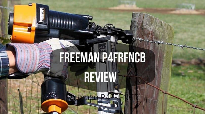 Freeman P4FRFNCB Pneumatic Framing & Finishing Combo Kit