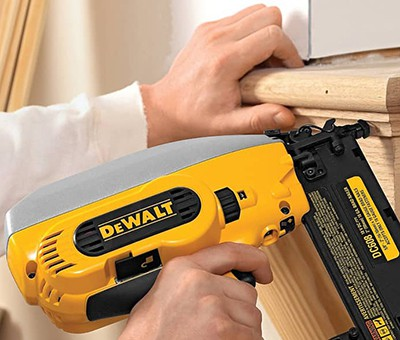 How to Use a brad nailer