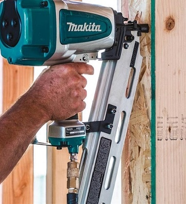 Framing nailer uses