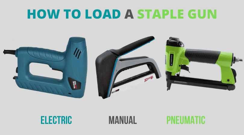 How to Load a Staple Gun