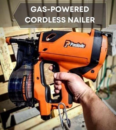 Gas-powered cordless nail guns
